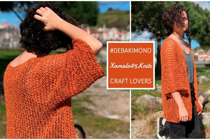 Kimono tricoté en une seule piece