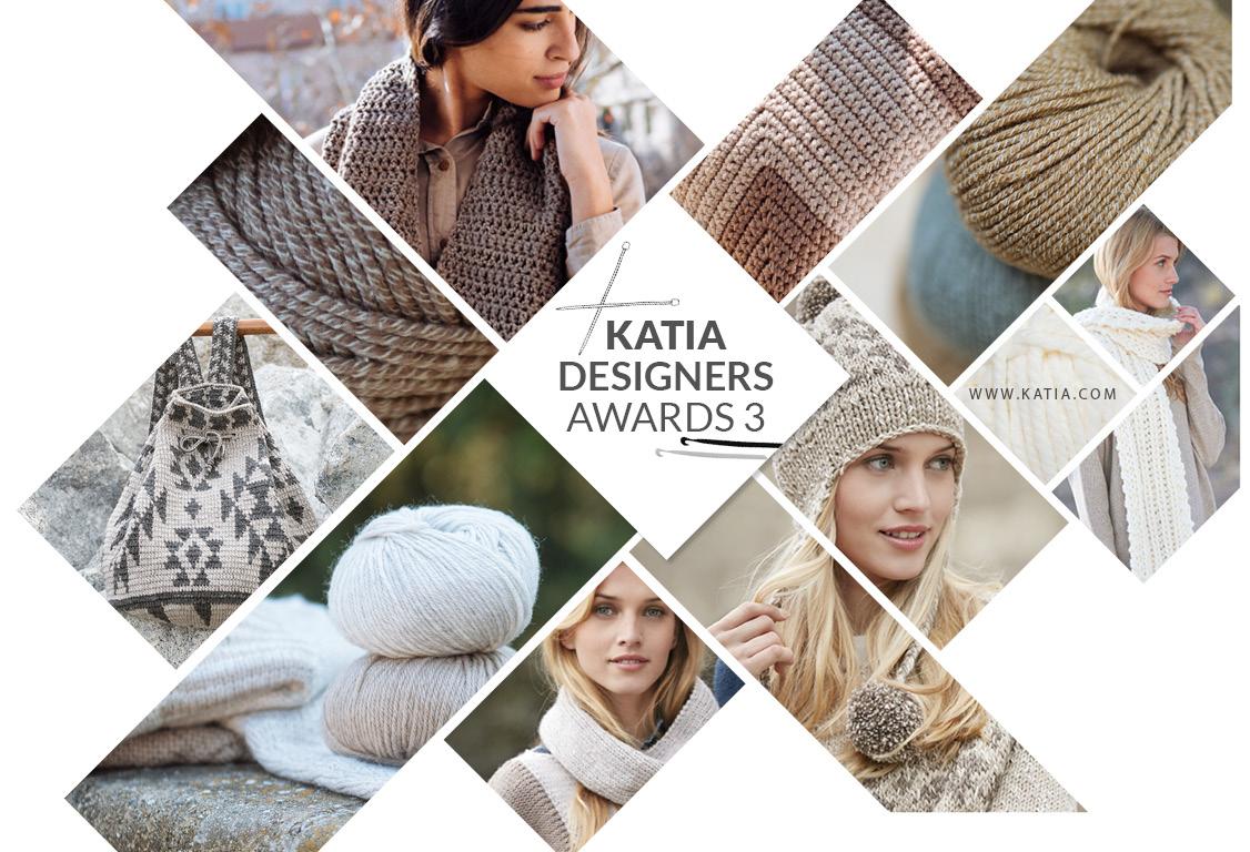Katia Designers Awards 3: Créez un complément au tricot ou au crochet pour un de nos catalogues