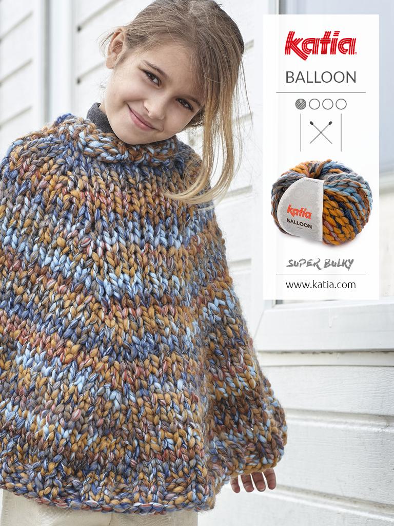patrons tricot faciles pour enfants poncho