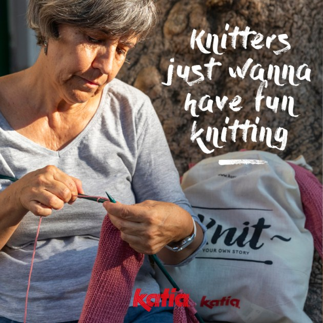 knitters just want to have fun