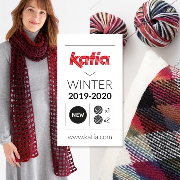 nouvelles laines katia automne hiver feat