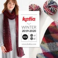 11 nouvelles laines Katia Automne Hiver 2019-2020 pour tricoter ou crocheter accessoires et vêtements avec seulement 1 ou 2 pelotes