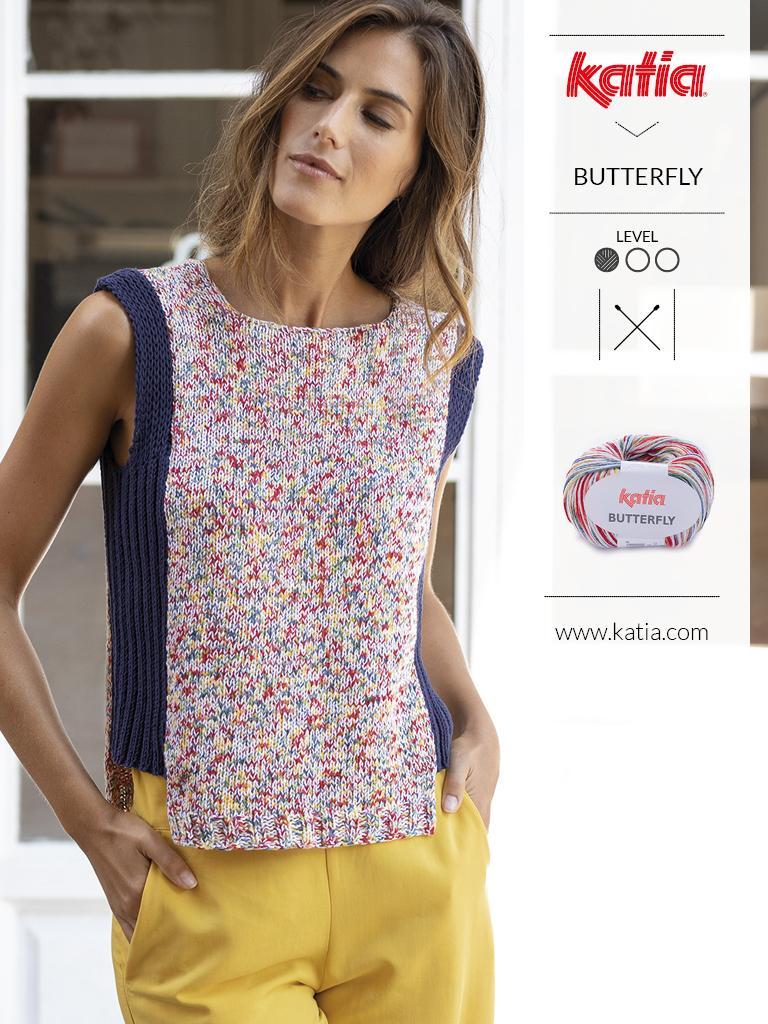 nouveautés-fil-katia-printemps-ete-2019 butterfly