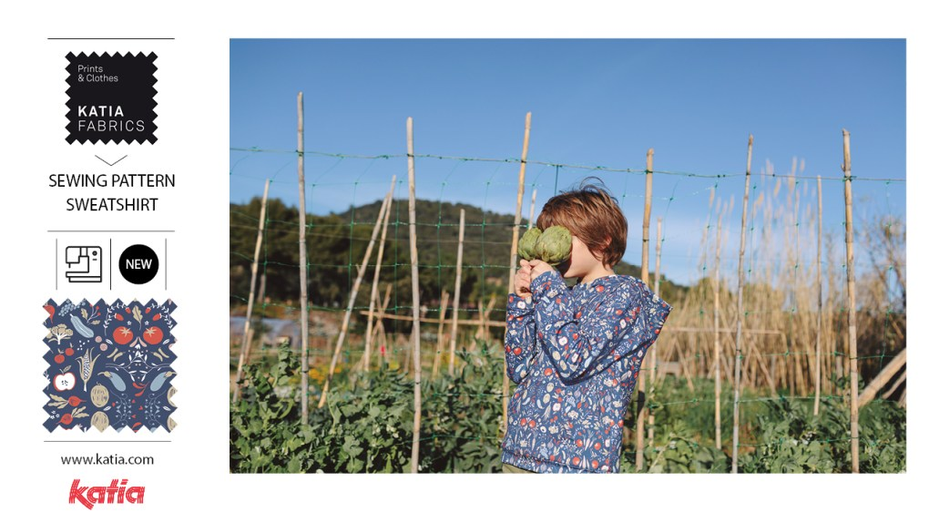 patron couture sweatshirt enfant origins