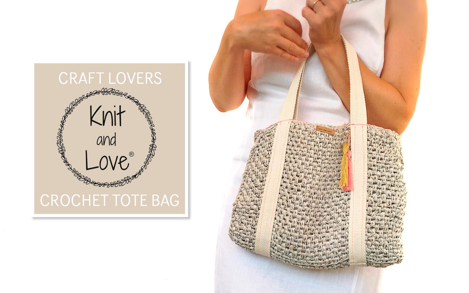 apprenez r aliser un sac en raphia tote au crochet avec. Black Bedroom Furniture Sets. Home Design Ideas