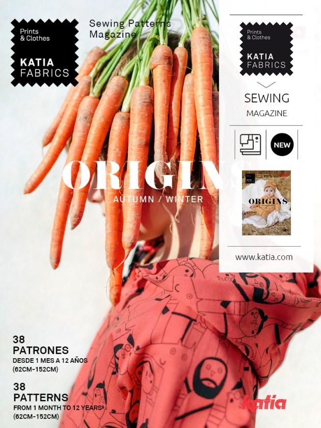 nouveau catalogue de couture Katia Fabrics