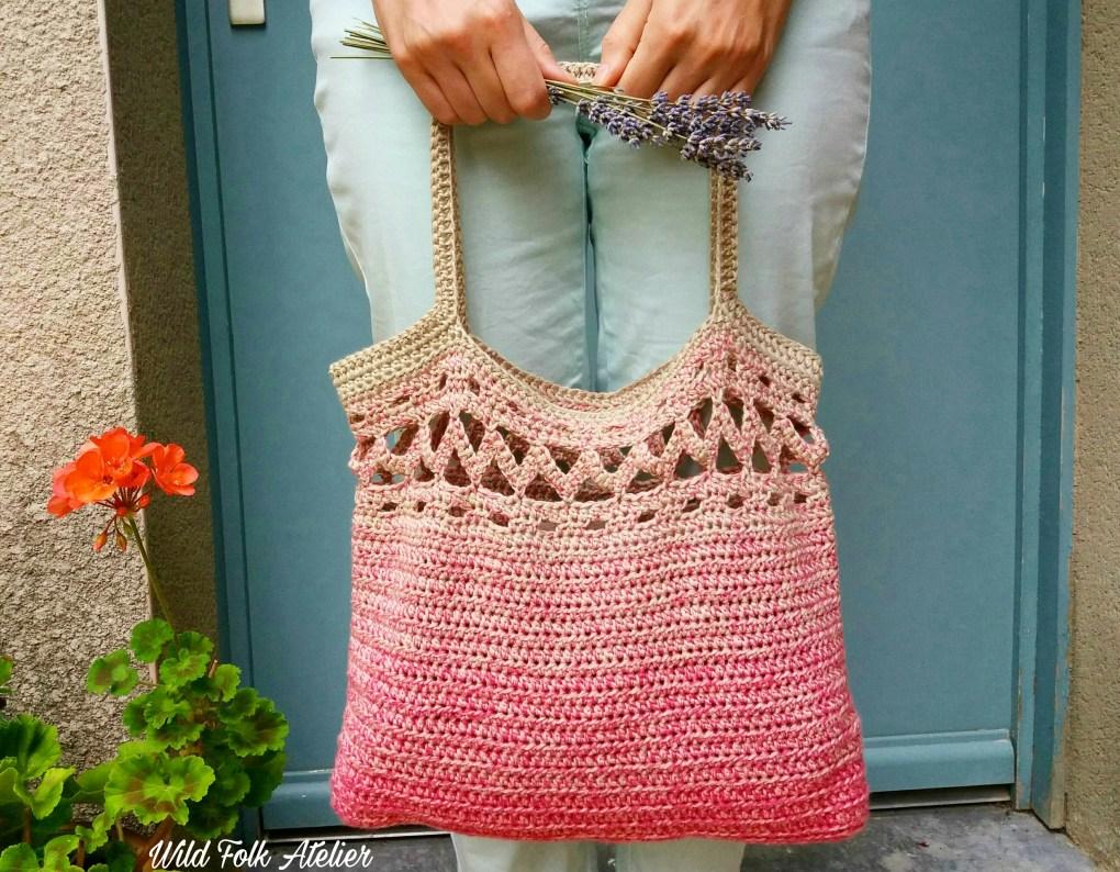sac boho crochet