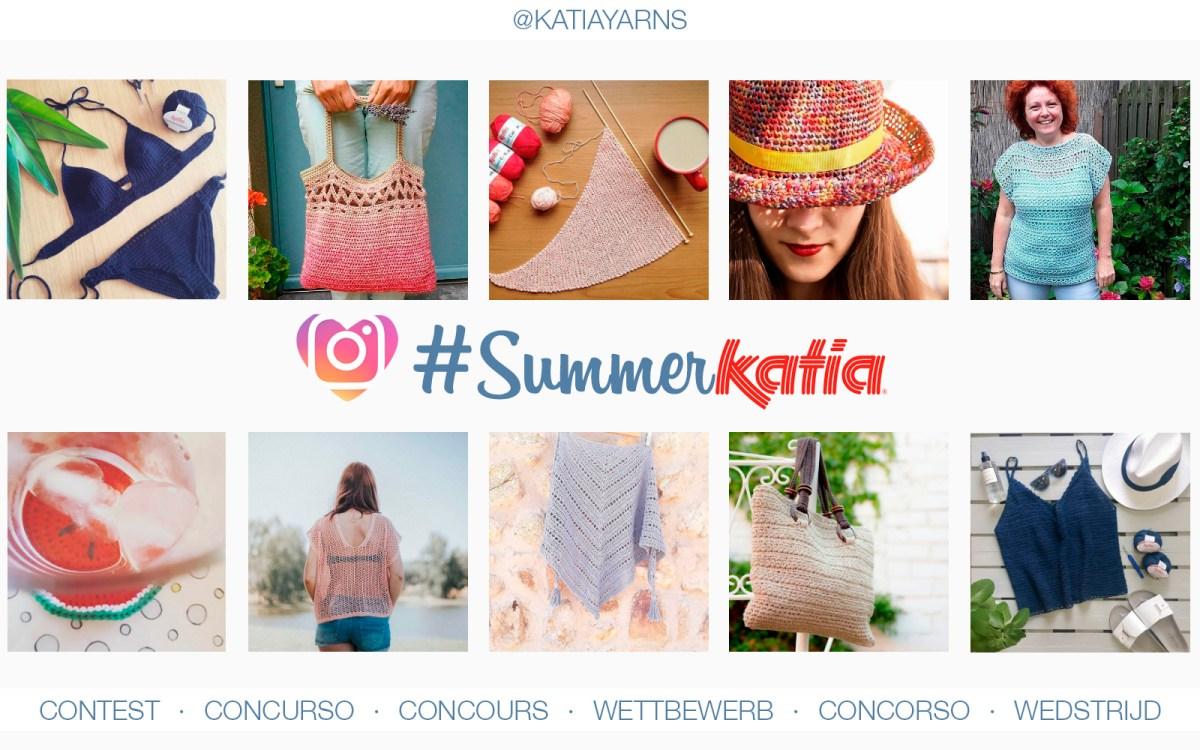 Tricotez ou crochetez vous avec nos fils Katia en Été? Participez à notre Concours #SummerKatia