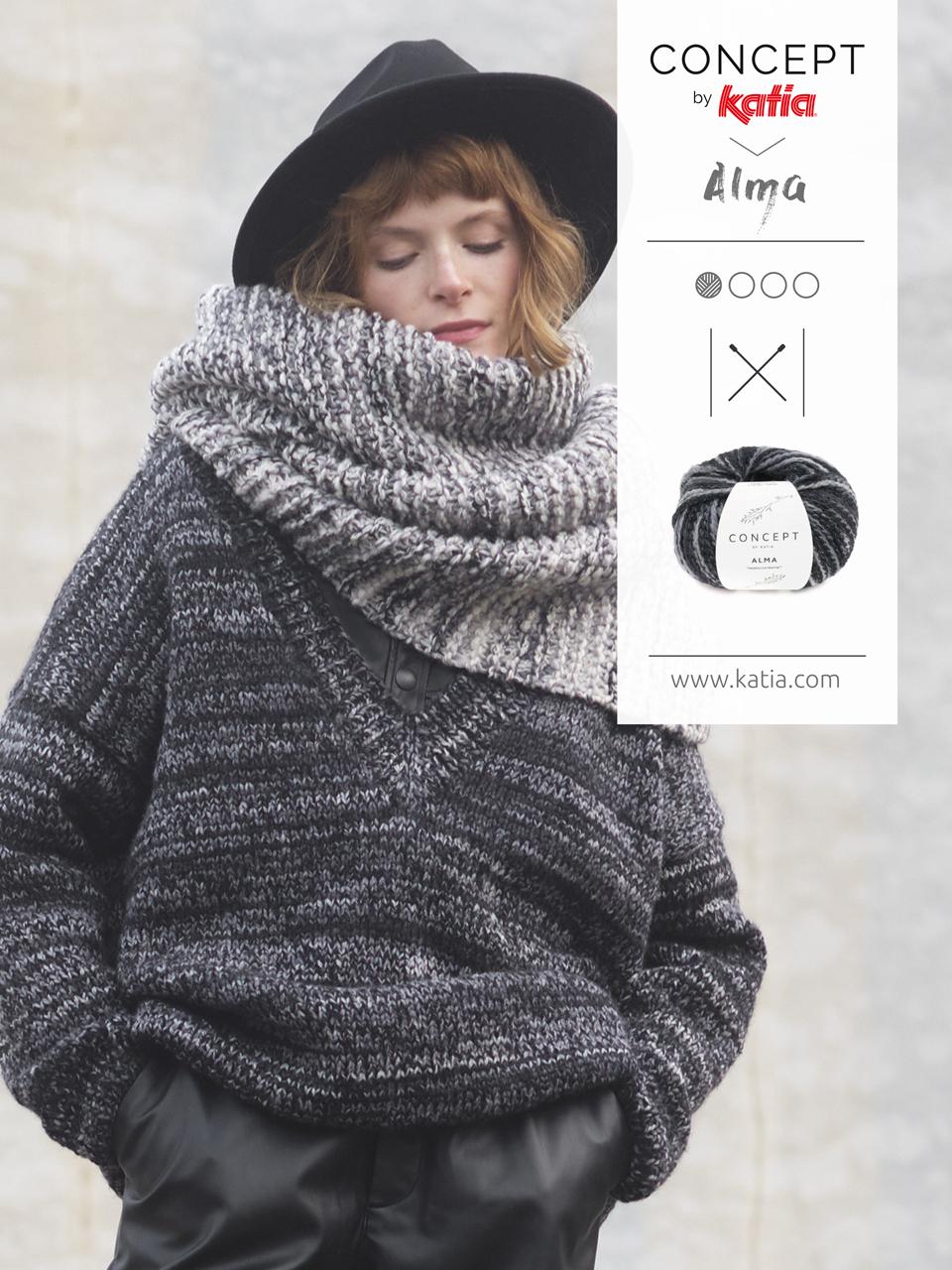 vêtements confortables tricot pull oversize