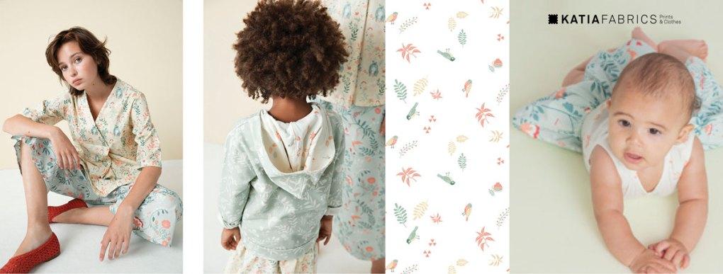 collection-tissus-katia-fabrics-printemps-ete-2019  magic dreams