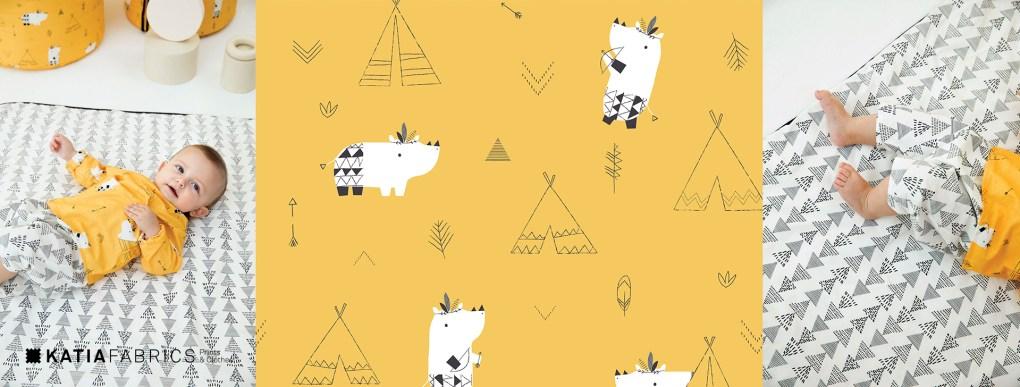 collection-tissus-katia-fabrics-printemps-ete-2019 poinners