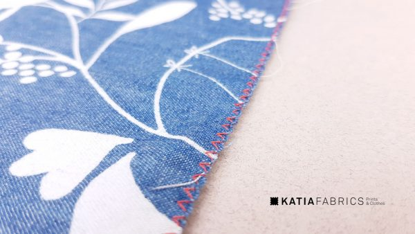 points basiques de couture zigzag