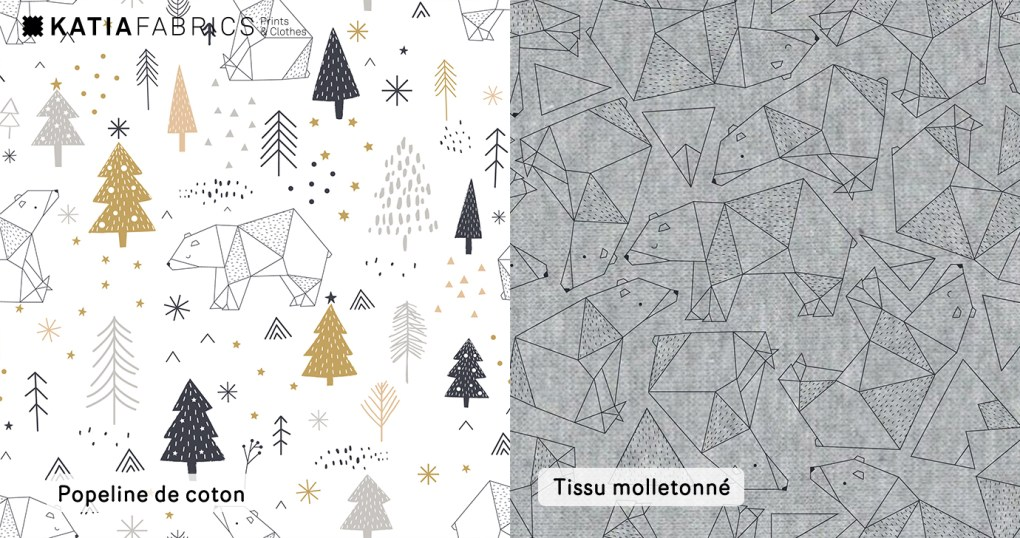 Nouvelle collection Katia Fabrics Automne Hiver 2018/2019 xmas coming