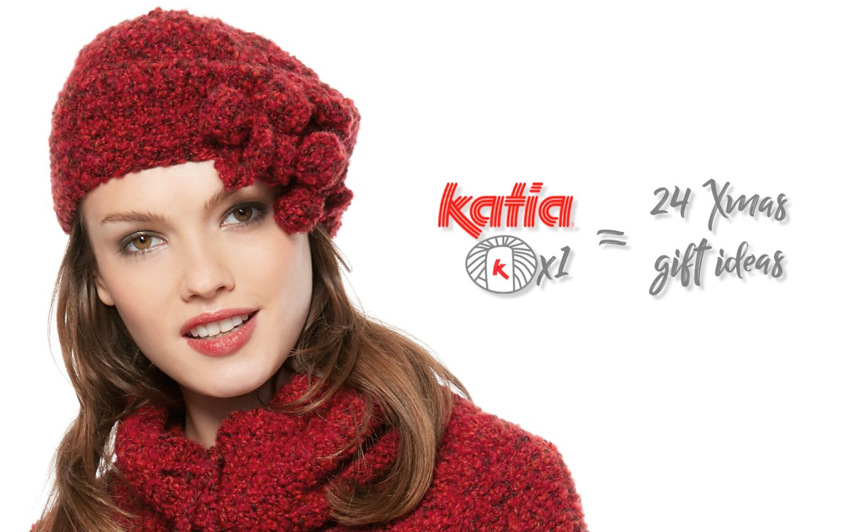 Avec 1 seule pelote Katia: 24 idées de cadeaux faits main à offrir pour Noël