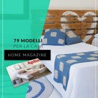 Rivista Casa 3: 79 Modelli ai ferri, uncinetto e macramé per decorare la tua casa