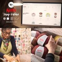 Scopri tutto su katia.com, il rivenditore online dei negozi di filati e tessuti della tua città