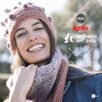 10 modelli gratuiti per lavorare regali facili e veloci ai ferri o all'uncinetto con i nuovi gomitoli Katia