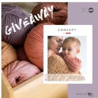 Entra nel piccolo universo del filato Cotton In Love e della sua rivista monografica con 8 modelli per mamme e bambini