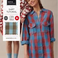 Video tutorial camiciona da donna: Confeziona il capo alla moda di questo autunno e crea un look da 'taglialegna'