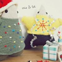 Craft Lovers ♥ Speel en heb plezier met De Estraperlo en de Kerst amigurumis Cris Tree & Bet Star