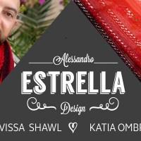 Craft Lovers ♥ Sjaal Eivissa gebreid met Katia Ombré door Alessandro Estrella