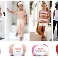 Dit zijn de 7 meest gemakkelijke breipatronen voor meisjes van het tijdschrift Katia Kinderen 81