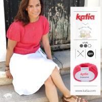 Gebreid truitje met pofmouwen: gratis breipatroon door Knitting Sheep