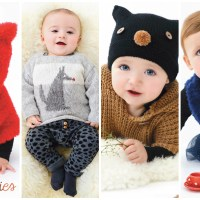 Katia Babystories: learn how to knit baby clothes with 28 easy designs