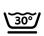 Machine washable at 30ºC Short tumble drying