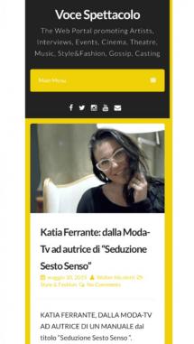 intervista all'Autrice e blogger della seduzione - katia ferrante - katiaferrante.com