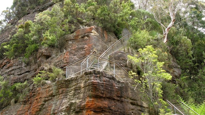 A Giant Staircase on the route