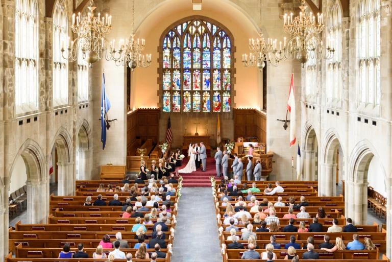 Culver Academy Chapel Wedding Katie Amp Will