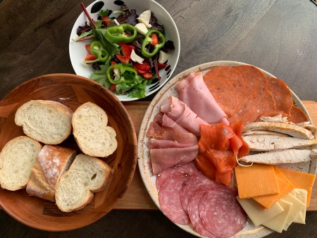 Charcuterie plates are a great, no-cook, meal option in the midst of a BC heat wave
