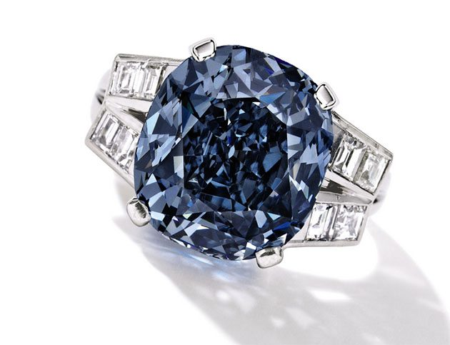 The Shirley Temple Blue Diamond – Auction Bound