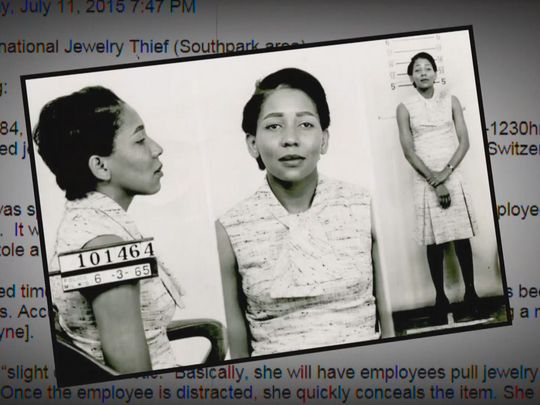 Diamond Doris Payne Jewel Thief Photo credit: USA Today