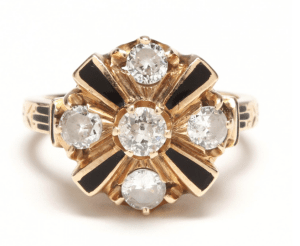 A History Of Engagement Rings, Vol. 4: The 1950's