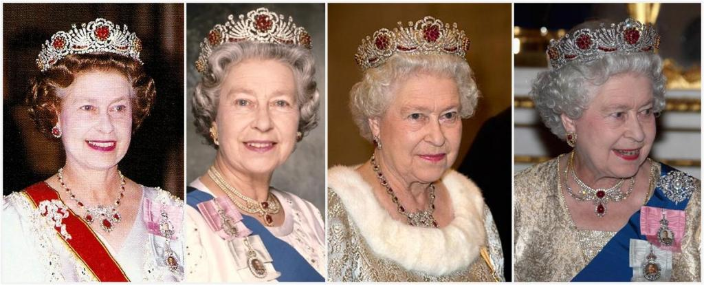 Queen Elizabeth Ruby Tiara