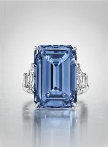 the legendary Oppenheimer Blue Diamond-jewelry-collection