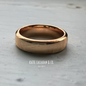 Van Cleef & Arpels 18kt Rose Gold Toujours Wedding Ring
