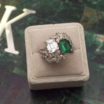 A History Of Engagement Rings, Vol. 3, The 1960's