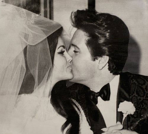 Wedding Wednesday: Elvis Presley and Priscilla Beaulieu