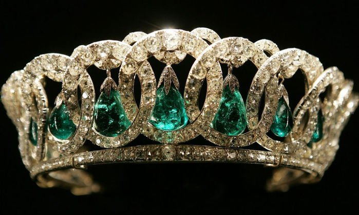 Royal British Tiaras: The Grand Duchess Vladimir Tiara