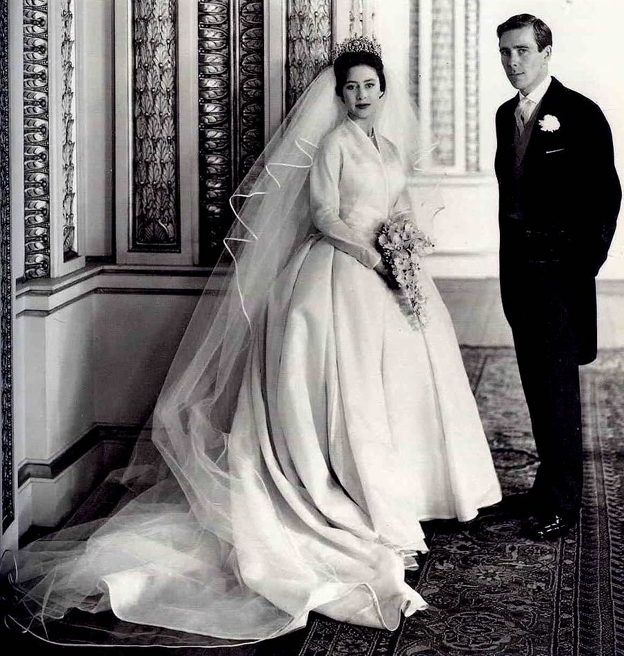 Wedding Wednesday: Princess Margaret and Antony Armstrong-Jones