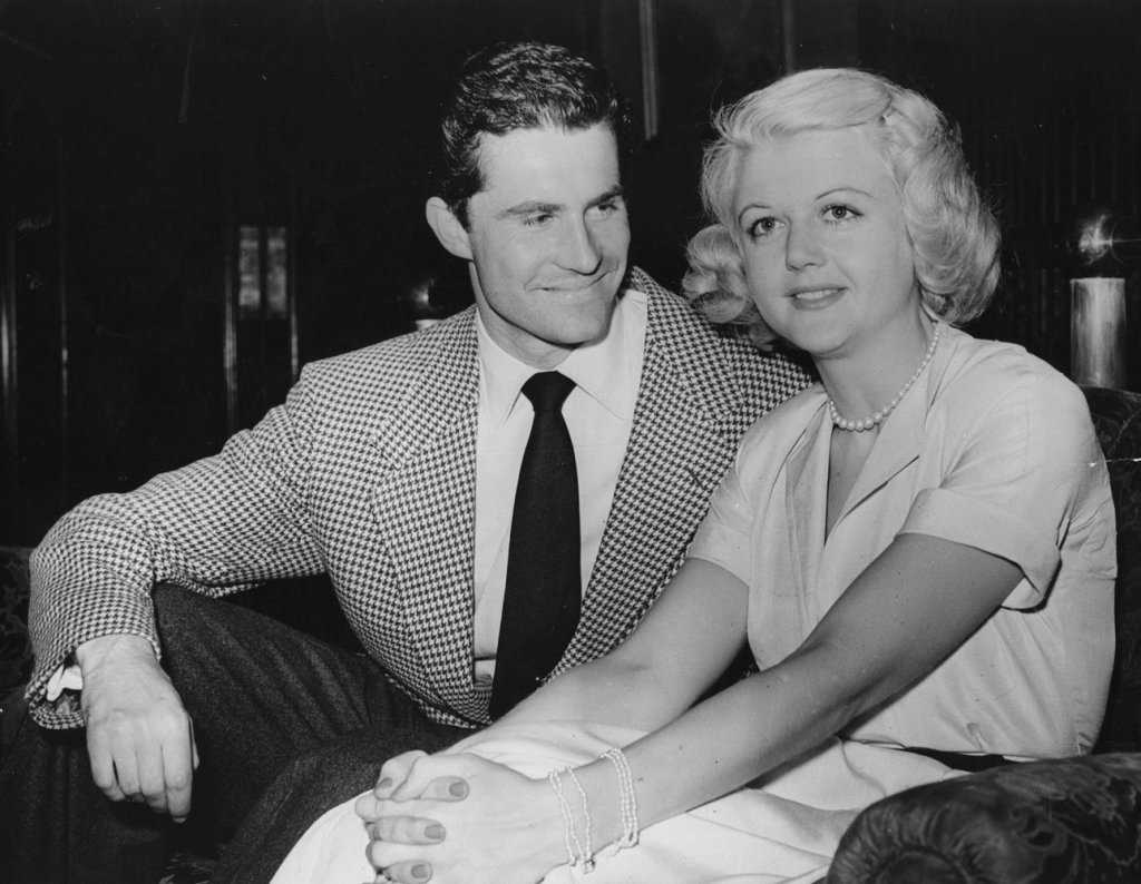 Wedding Wednesday: Angela Lansbury and Peter Shaw