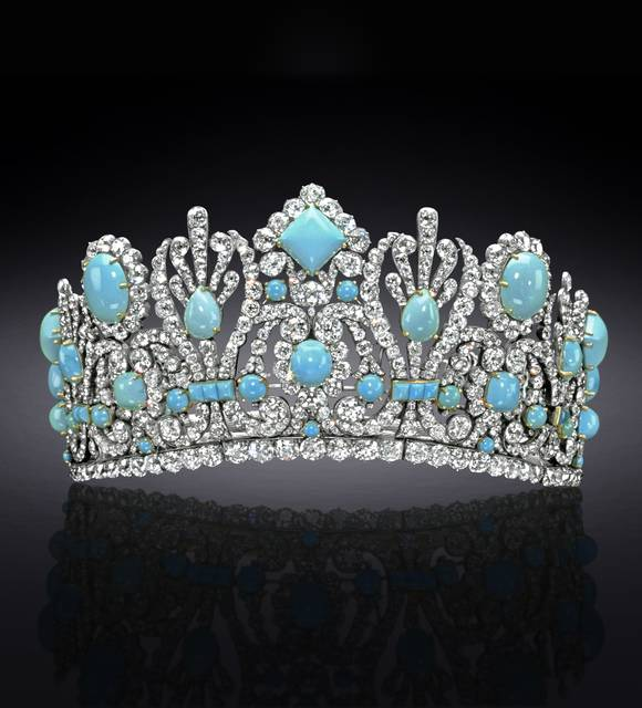 Royal French Tiaras: The Empress Marie-Louise Diadem