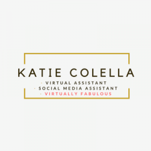Logo of Katie Colella Social - A Virtual assistant & Social Media assistant in Newport, Virtually Fabulous