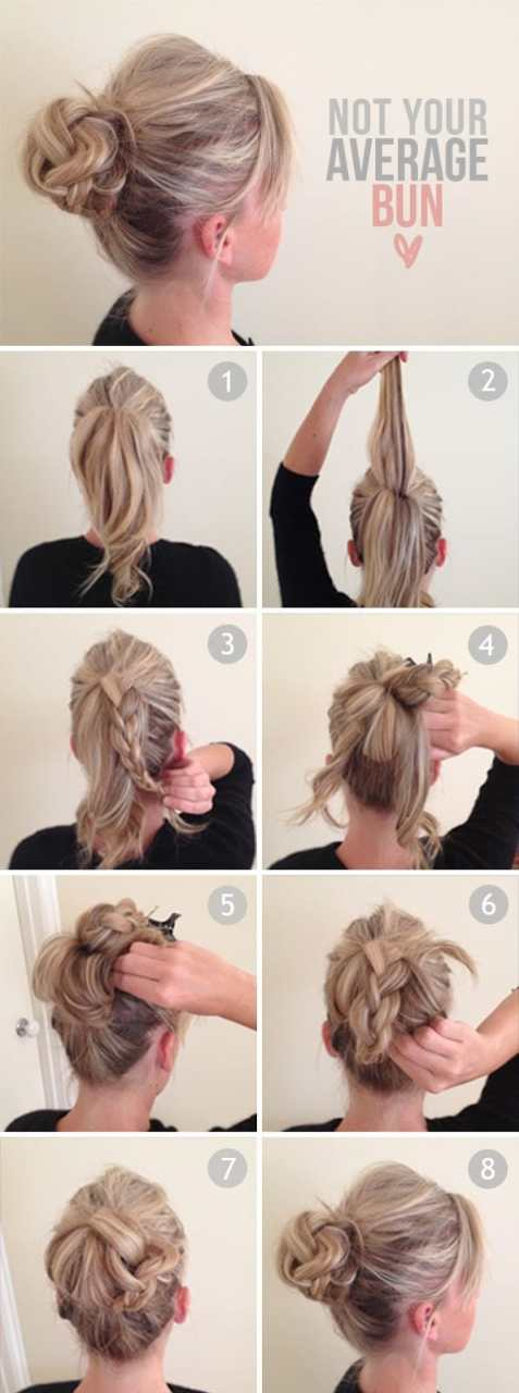 A little slice of: Not Your Average Bun Tutorial