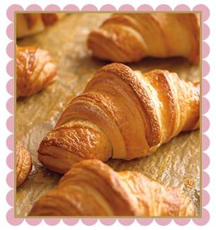 Starbucks Croissant on Katie Crafts; http://www.katiecrafts.com