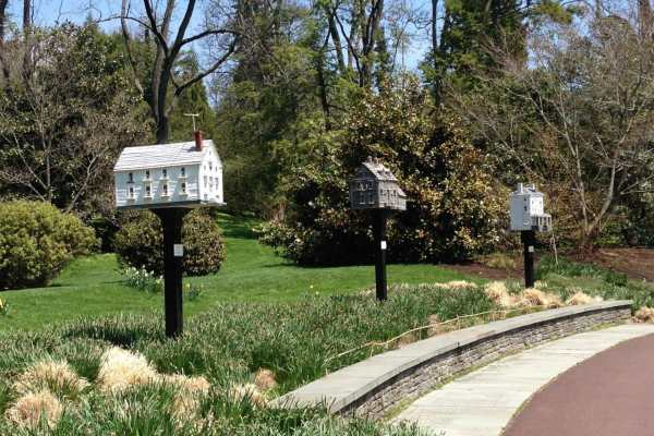 Morris Arboretum: Home Tweet Home on Katie Crafts; https://www.katiecrafts.com
