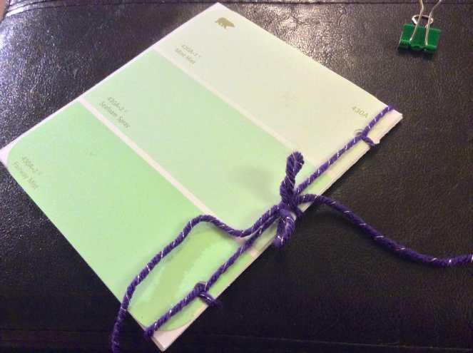 DIY Mini Sketch Book Tutorial by Katie Crafts; http://www.katiecrafts.com